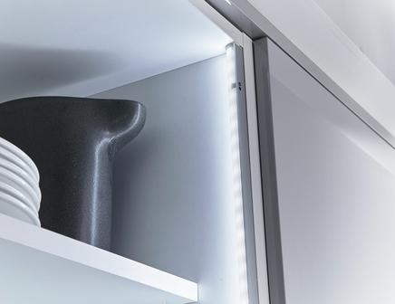 Led retro fit cabinet lights