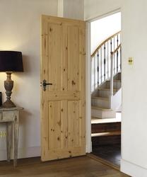 4 Panel Knotty Pine door