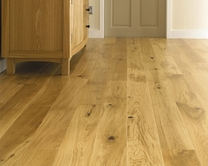 Pre-Finished Fast Fit Oak single plank (130mm) flooring