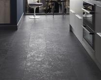 Professional V Groove Basalt Slate laminate tiles