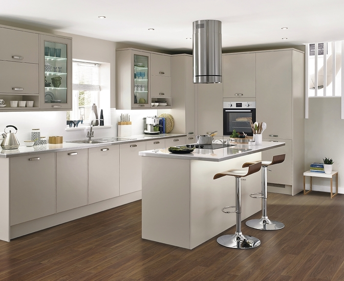 Greenwich Cashmere Kitchen Universal Kitchens Howdens Joinery