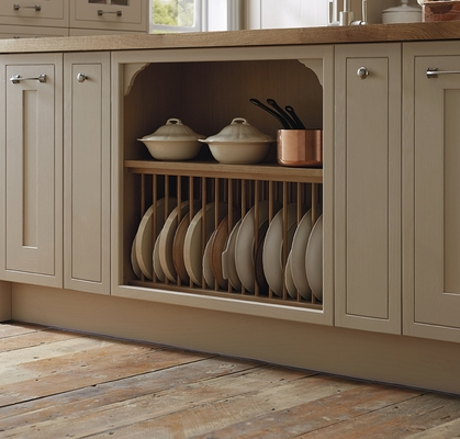 Tewkesbury Framed Cashmere Kitchen Shaker Kitchens