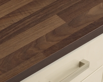 Walnut Block Effect worktop