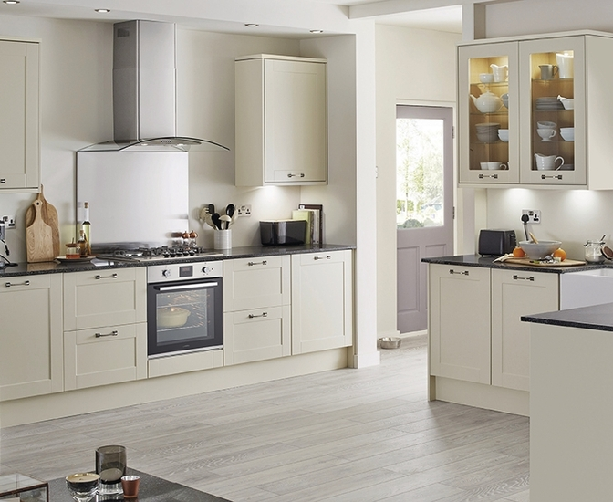 Burford Ivory Kitchen Shaker Kitchens Howdens Joinery