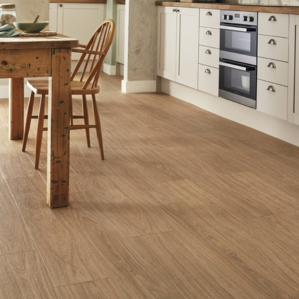 Quickstep livyn oak light natural vinyl flooring for Quickstep kitchen flooring