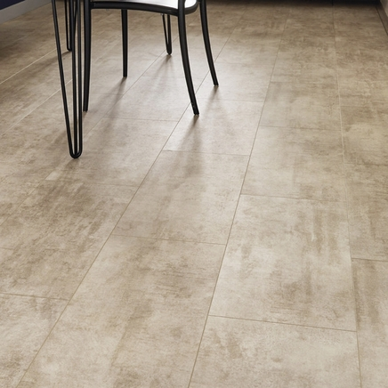 Quickstep Livyn Cream Travertine Vinyl Tile Flooring