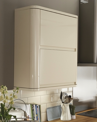 Bayswater Gloss Ivory Kitchen Contemporary Kitchens