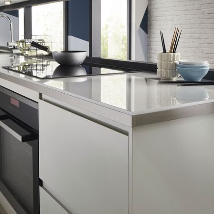 Clerkenwell Gloss Dove Grey Kitchen Howdens Joinery
