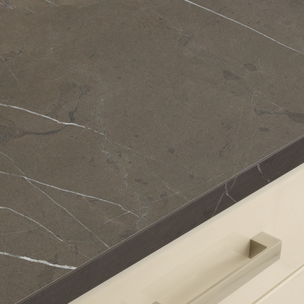 Brown Marble Effect worktop