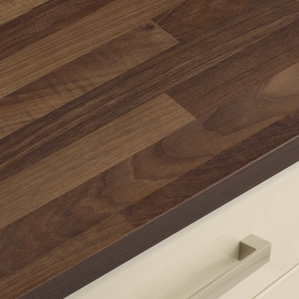 Walnut Block Effect Worktop Howdens Joinery