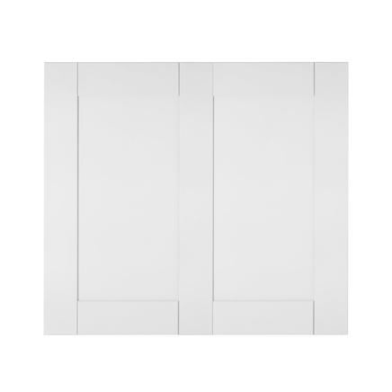 Primed shaker wall panelling