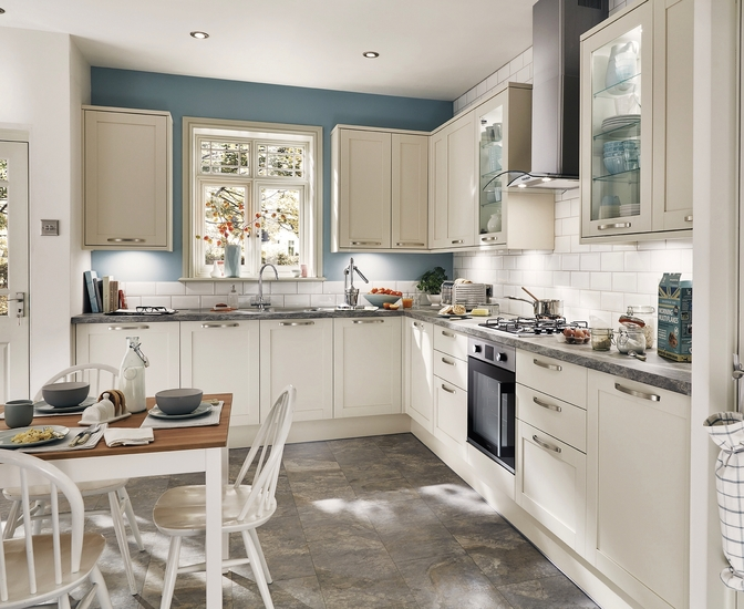 Greenwich Shaker Ivory Kitchen Shaker Kitchens Howdens Joinery