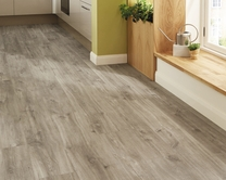 Quickstep Livyn Canyon Oak Grey vinyl flooring