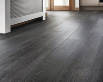Quickstep Livyn Silk Oak Dark Grey vinyl flooring
