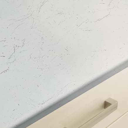 White Marble Effect Worktop Howdens Joinery