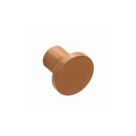 Brushed Copper Effect contemporary knob