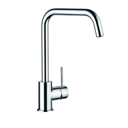 Lamona Chrome Alvo right angled single lever tap