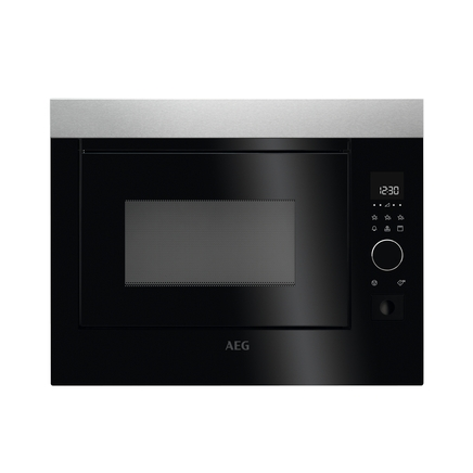 AEG integrated microwave & grill