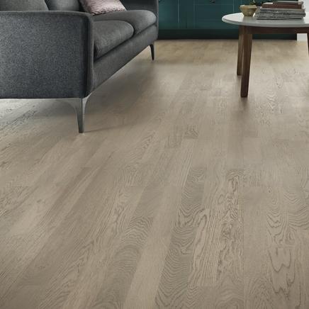 Fast Fit Light Grey Oak 3 strip flooring