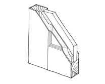 35mm Fire door core