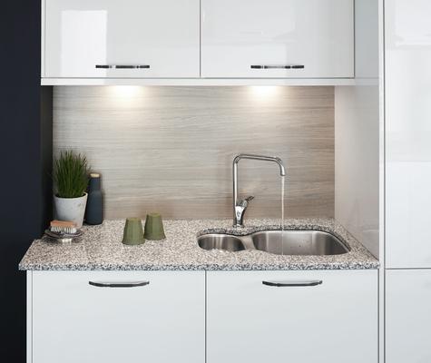 Greenwich Gloss White Kitchen Universal Kitchens