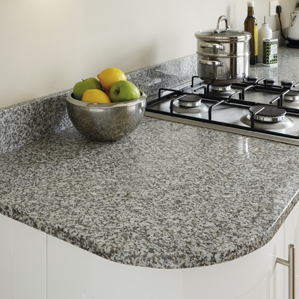 White Granite 20mm worktop