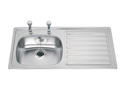 Lamona standard single bowl sink