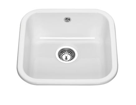 Lamona ceramic undermount single bowl sink