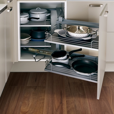 Howden Kitchen Corner Base Units