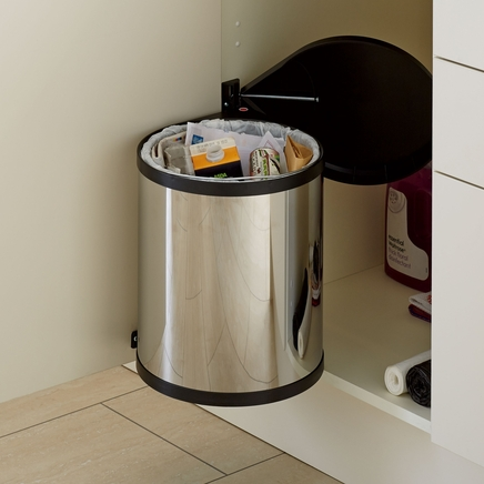 Stainless Steel single compartment bin