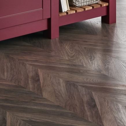 Professional Grey Chevron Laminate Flooring Flooring