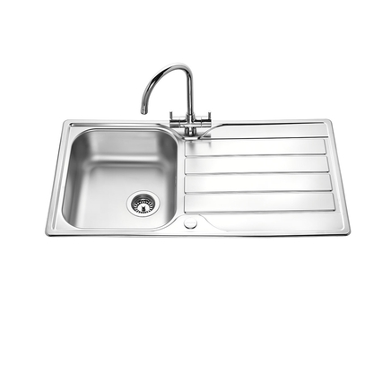 Lamona Rumworth Single Bowl Sink Howdens Joinery