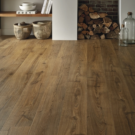 quickstep impressive oak laminate flooring howdens joinery. Black Bedroom Furniture Sets. Home Design Ideas