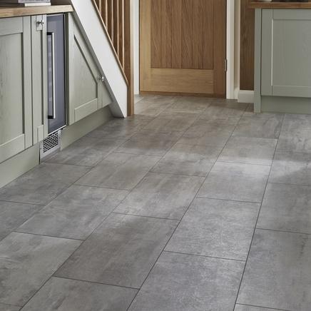 Professional V Groove Concrete laminate tiles