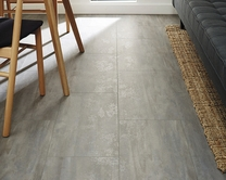 Professional V Groove Grey Stone laminate tiles