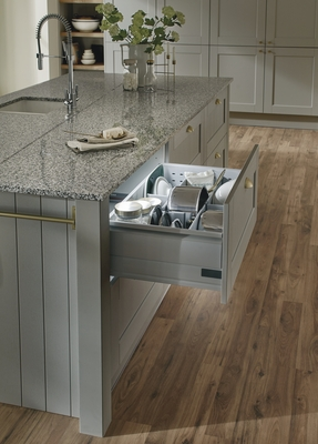 Fairford Grey Kitchen Shaker Kitchens Howdens Joinery
