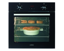 Lamona Black single fan oven
