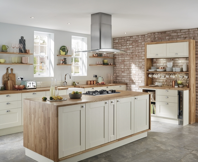 Fairford Antique White Kitchen Shaker Kitchens Howdens Joinery