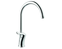 Lamona Chrome Savoca swan neck single lever tap