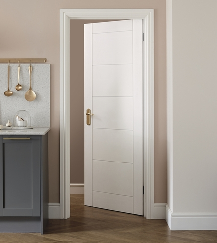Primed Linear door & Primed Linear Internal Door | Howdens Joinery