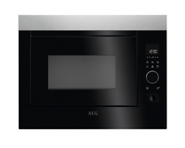 AEG integrated microwave and grill