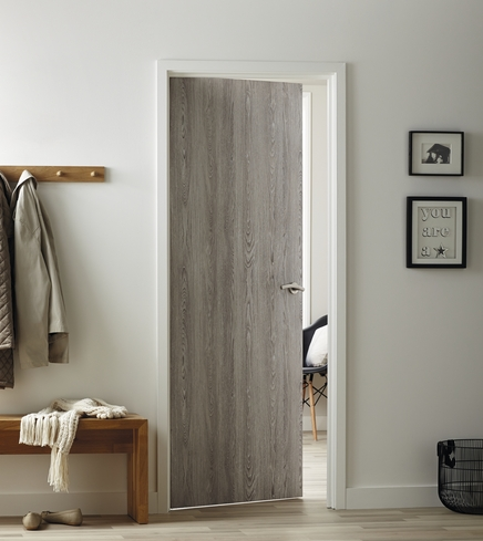 Light Grey Oak Foil Door Howdens Joinery