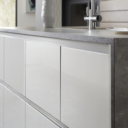 Grey Concrete Effect Worktop Kitchen Worktops Howdens