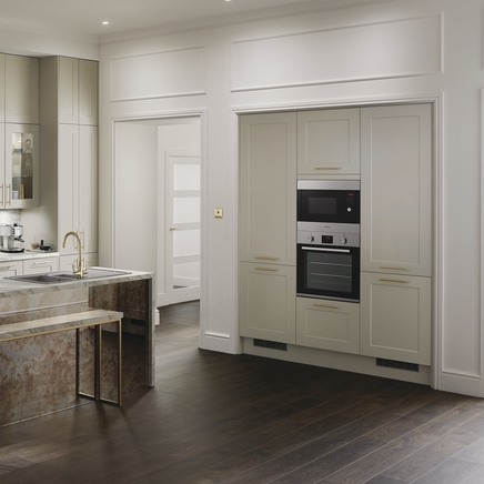 Chelford Dove Grey Shaker Kitchens Howdens Joinery