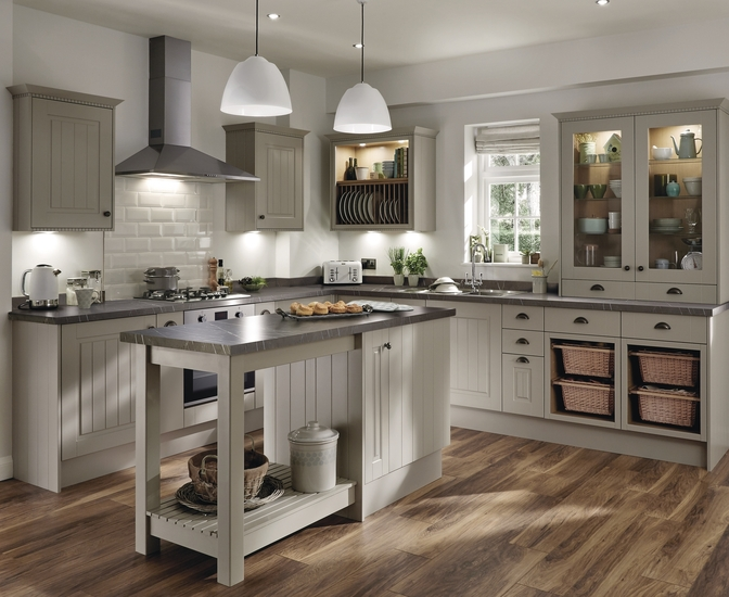 Burford Tongue Amp Groove Cashmere Kitchen Range Howdens Joinery