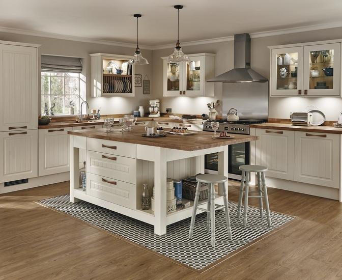 Burford Tongue Groove Kitchen Range Shaker Kitchens Howdens Joinery