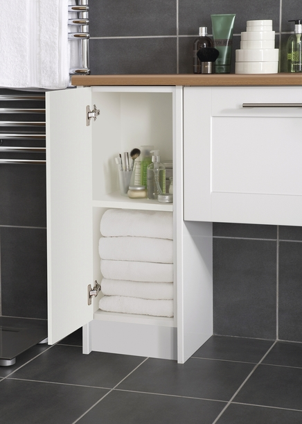 Burford Gloss Bathroom Cabinet Howdens Joinery