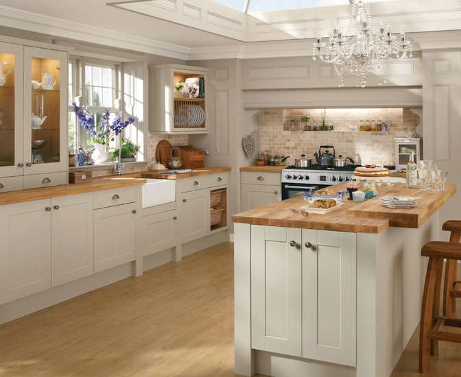 Burford grey kitchen shaker kitchens howdens joinery for Kitchen cabinets 600mm