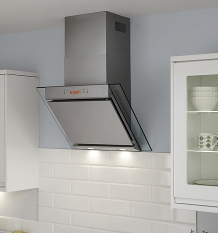 Turn your extractor fan on and off from anywhere in your kitchen, using the remote control.
