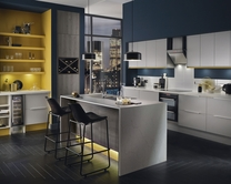 Greenwich Dove Grey Kitchen Universal Kitchens Howdens Joinery